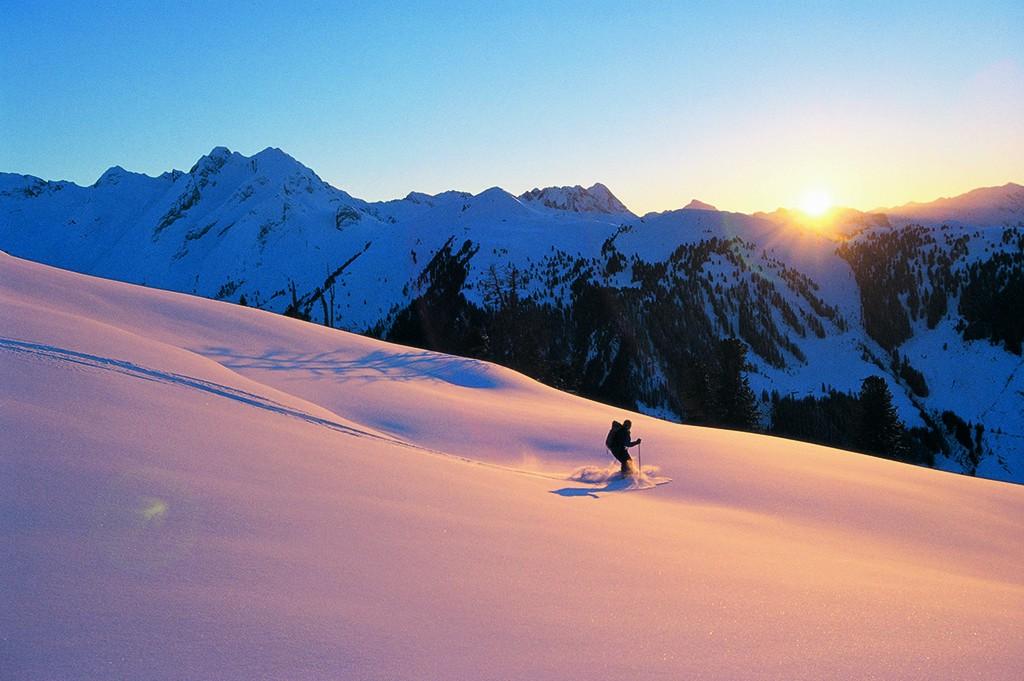 Skitour bei Längenfeld
