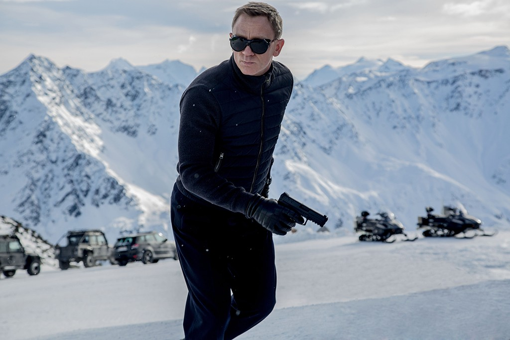 James Bond in Sölden