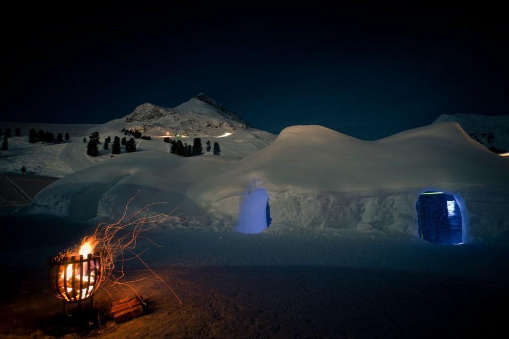 Schlafen im höchstgelegenen Skiort in Österreich